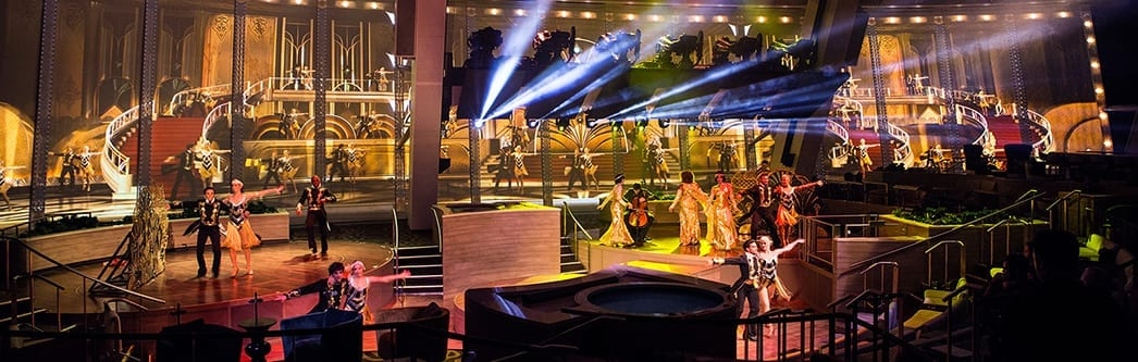 entertainment royal caribbean arabia