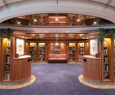 Royla caribbean library