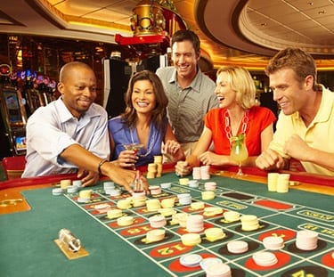 royal caribbean casino action